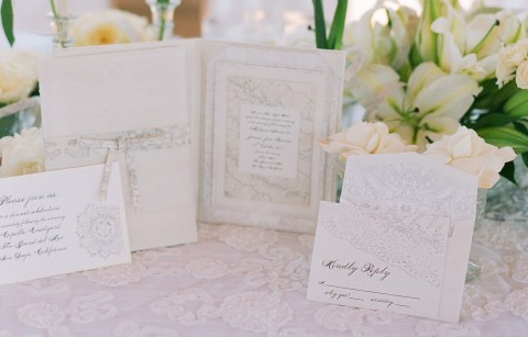 all-white-wedding-response-card