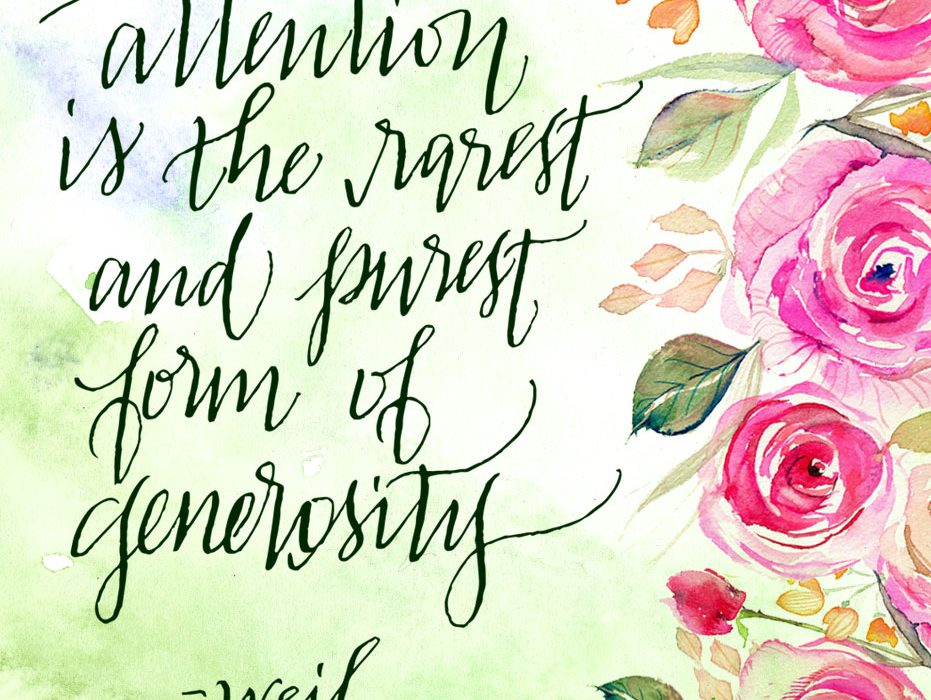 painterly prose watercolor calligraphy