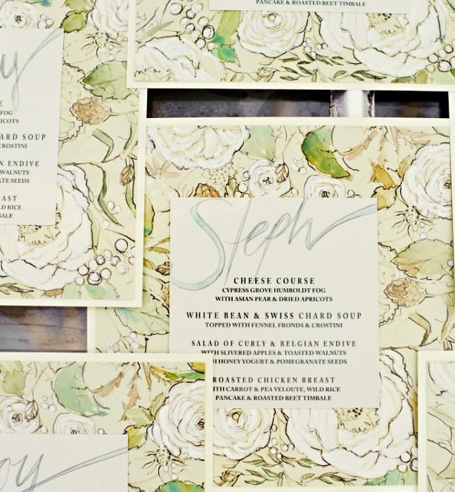 botanical-wedding-menus