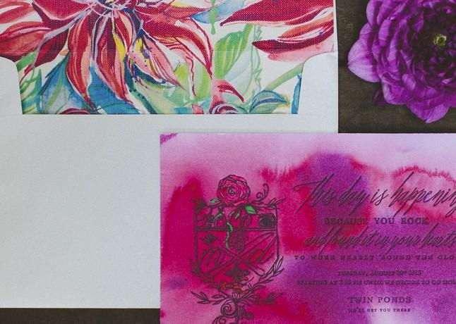 big-floral-bright-hand-painted-wedding-invitation