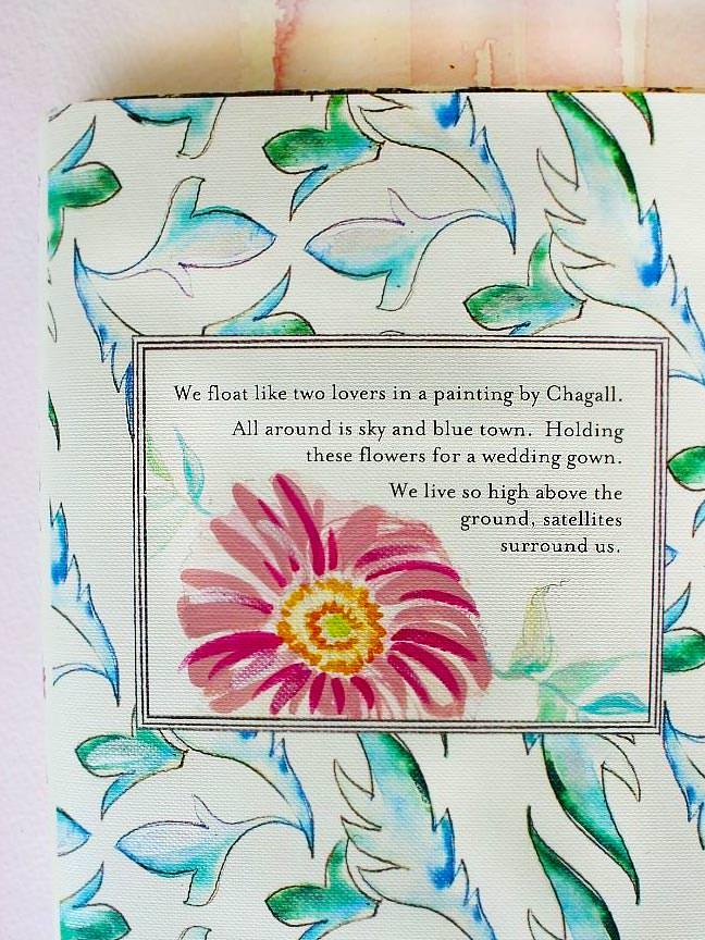Watercolor Suzani Wedding Invitations