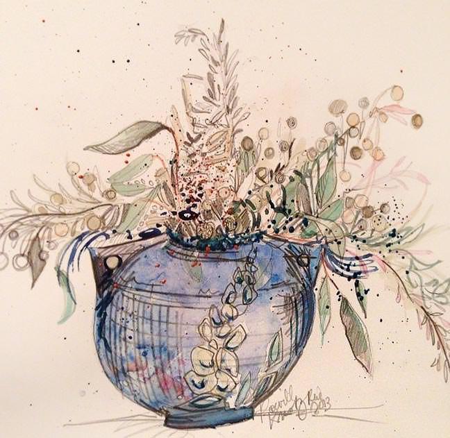Roseville Pottery Artwork