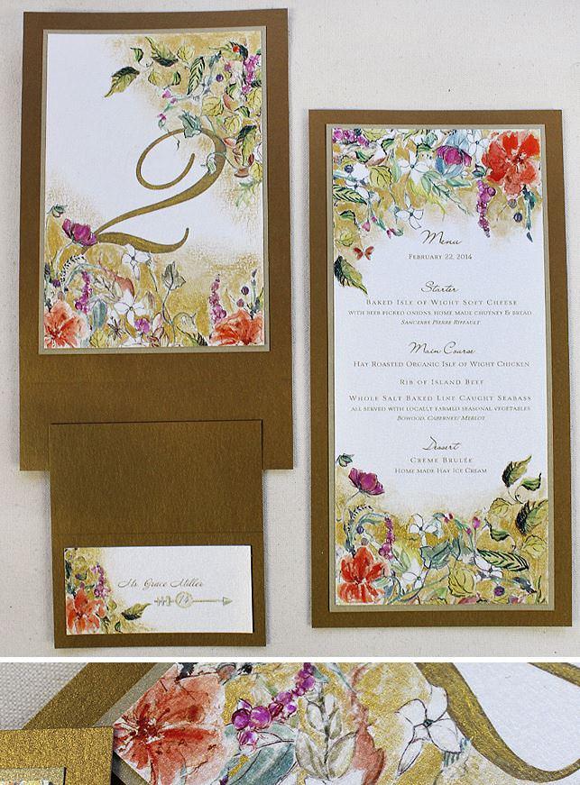 Midsummer Night's Dream Floral Wedding Accessories