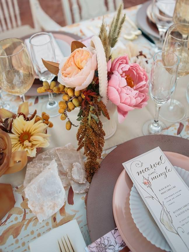 Pink and Peach Peony Wedding Ideas