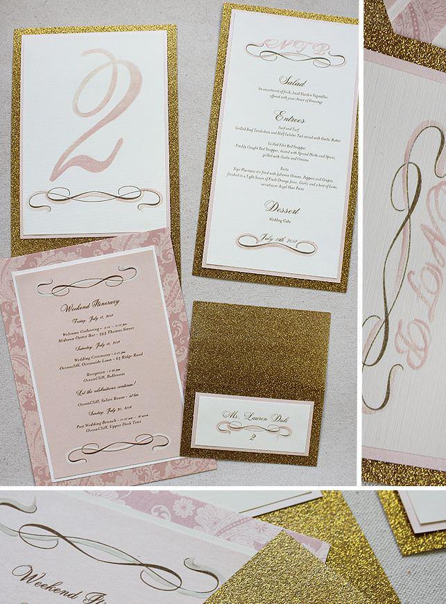 Swirl Wedding Stationery