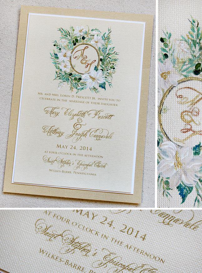 Momogram Wedding Invitations