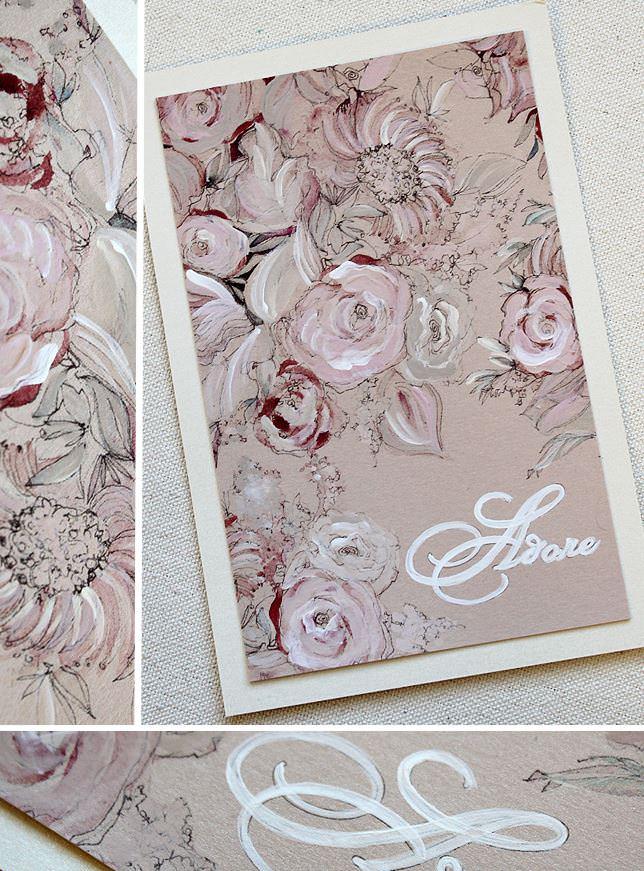 Pink Floral Valentine Bouquet