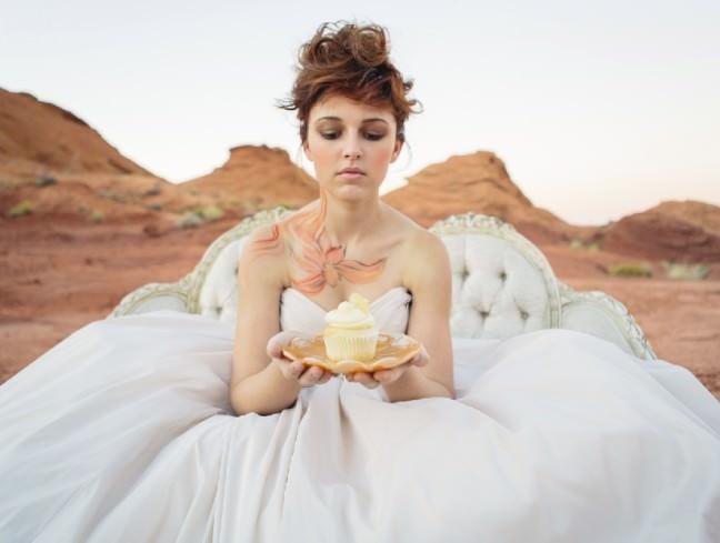 Hand Painted Bride, Wedding Body Art