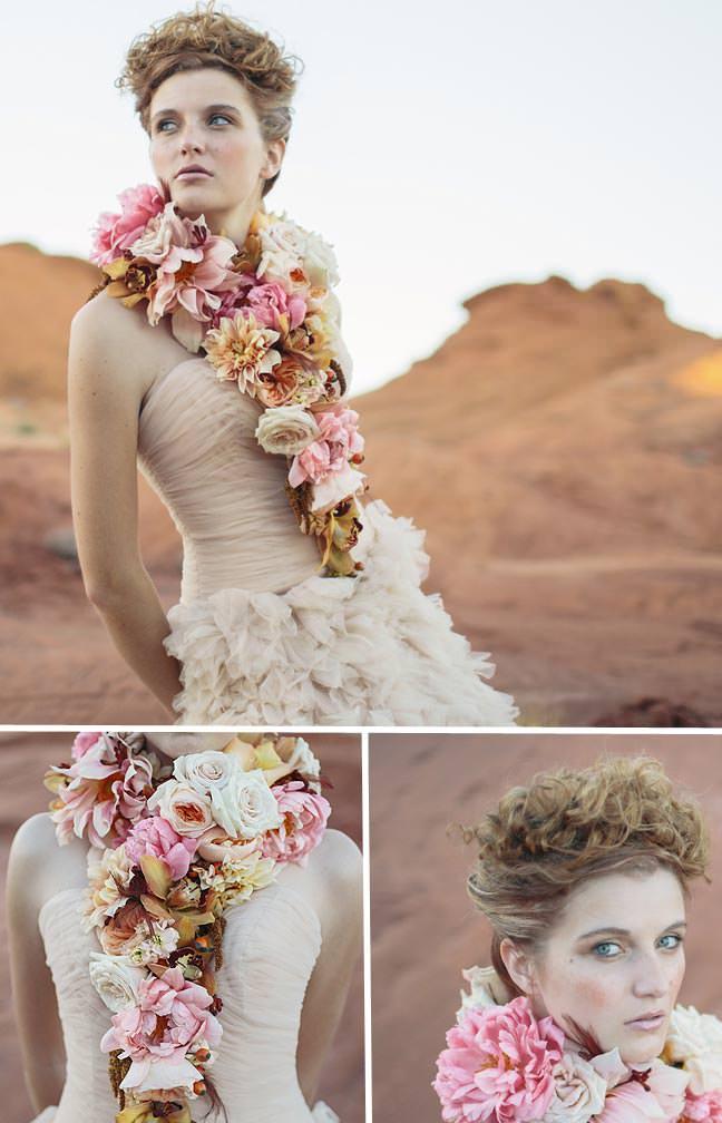 Edwardian Floral Collar