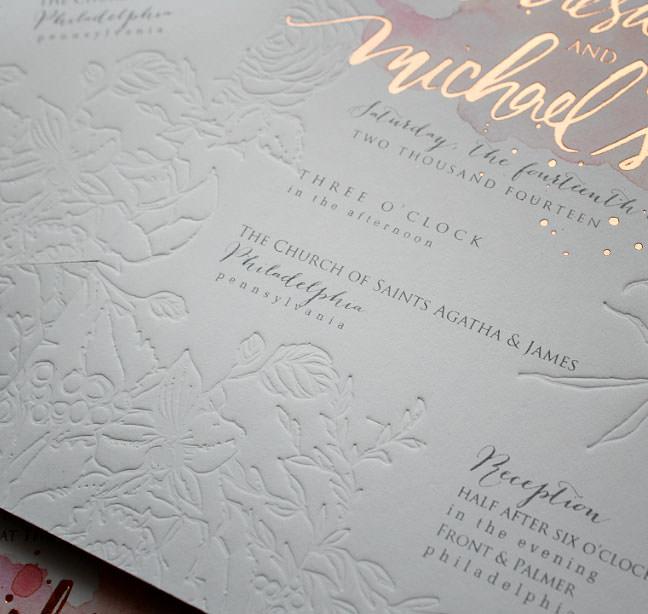 Wedding Invitations Australia Foil | Infoinvitation.co