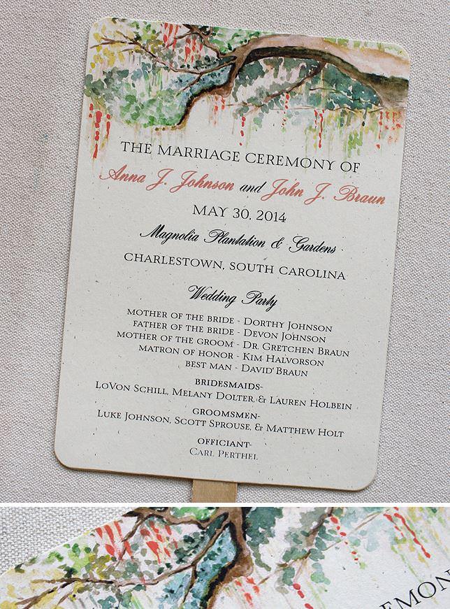 Watercolor Tree Wedding Stationery