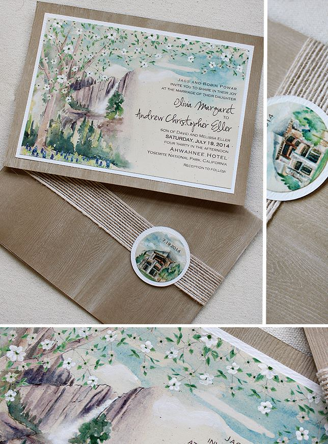 Yosemite Wedding Invitation