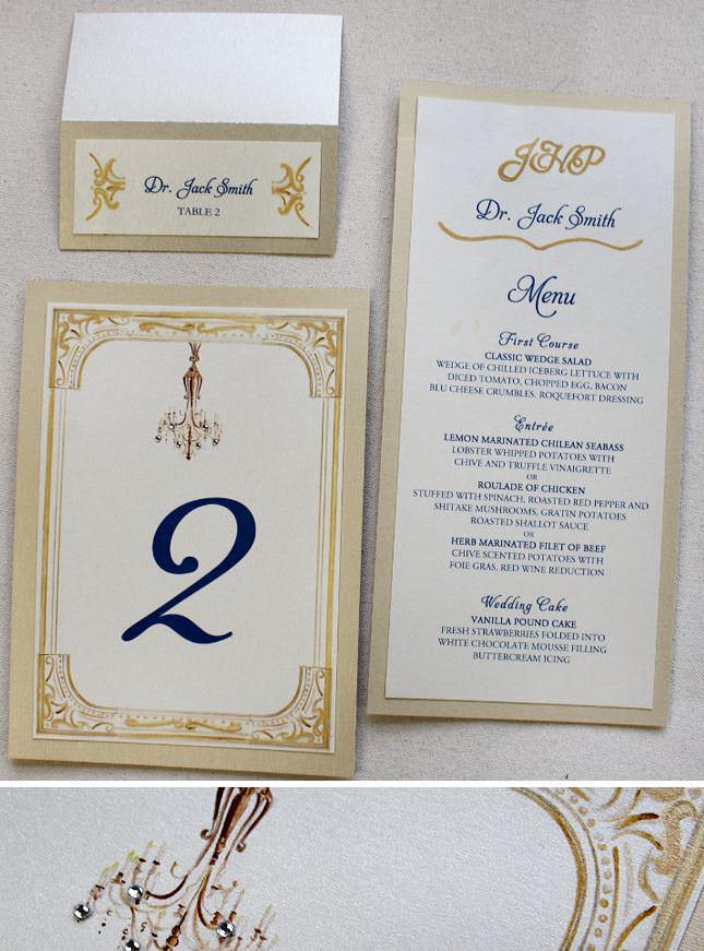 Chandelier Wedding Accessories