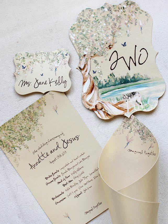 Fairy Tree Wedding Accessories