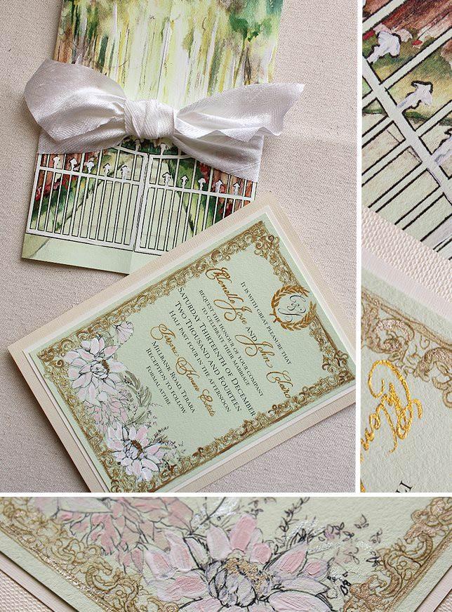 Frame Wedding Invitations