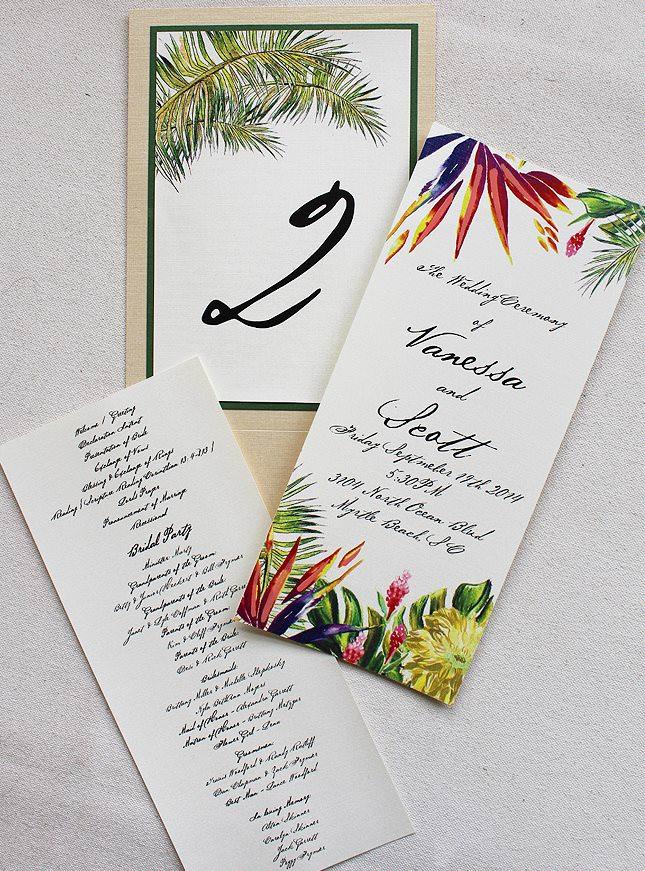 Bird of Paradise Wedding Accessories