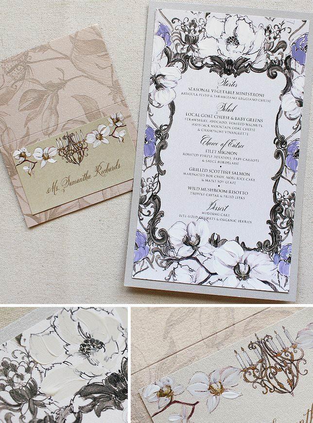 Baroque Frame Wedding Accessories