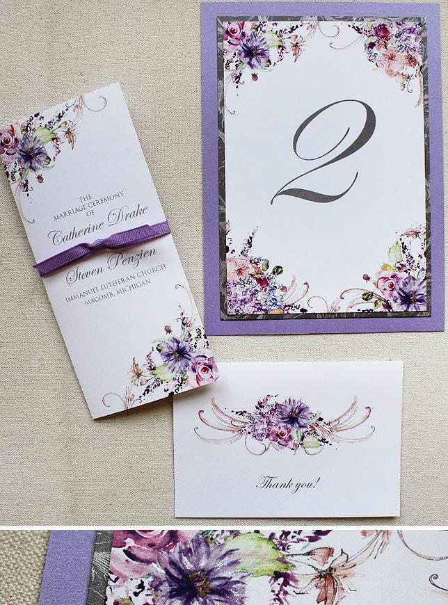 Wildflower Wedding Accessories