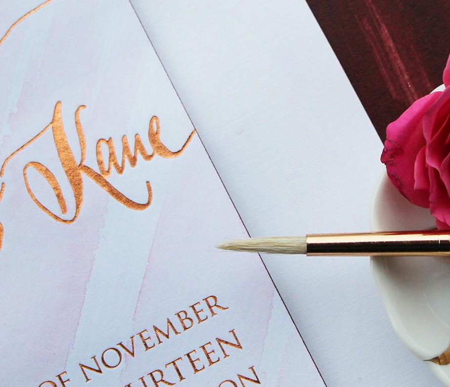 rose-gold-foil-watercolor-wedding-invitations