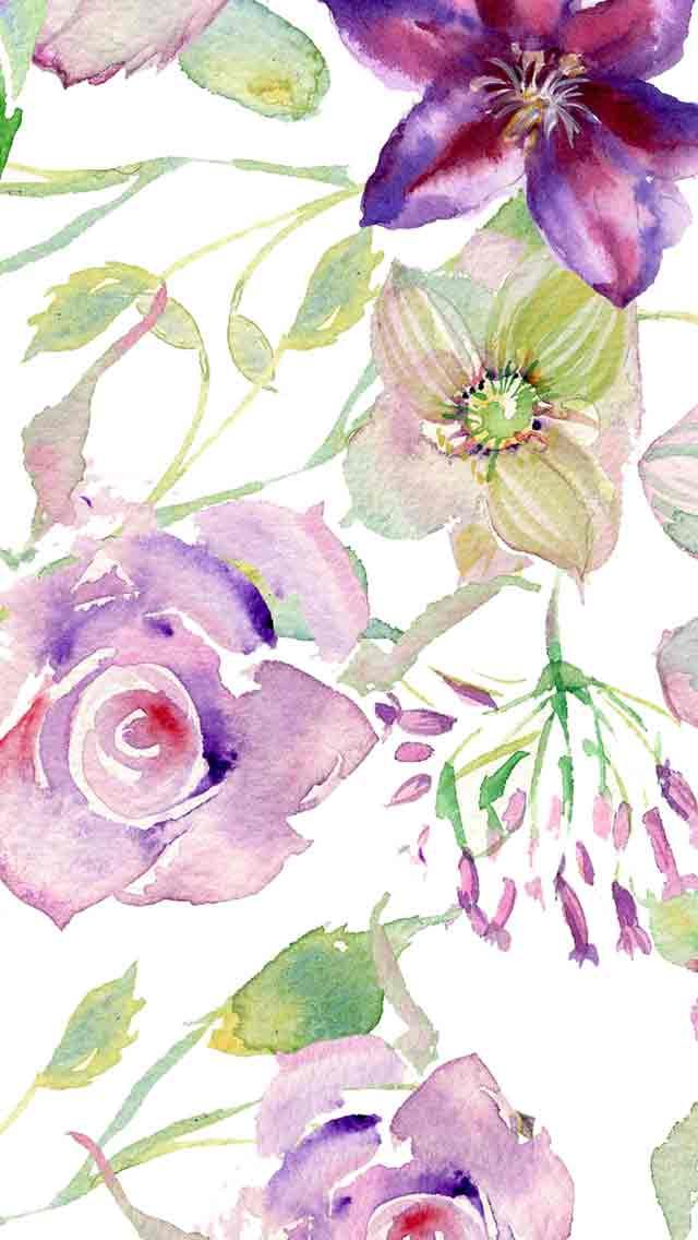 Vintage Floral Pattern Wallpaper Tumblr Download
