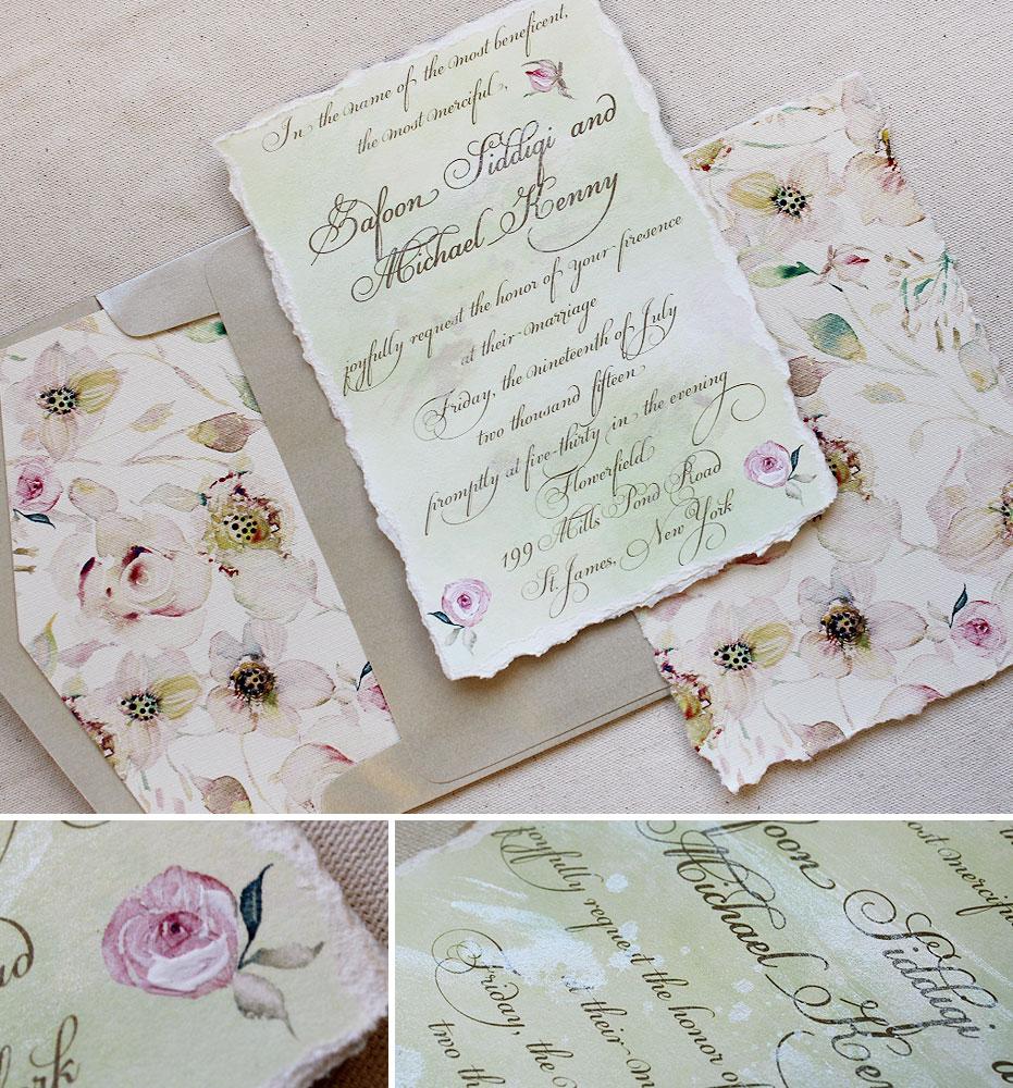 watercolor-flower-pattern-wedding-invitation