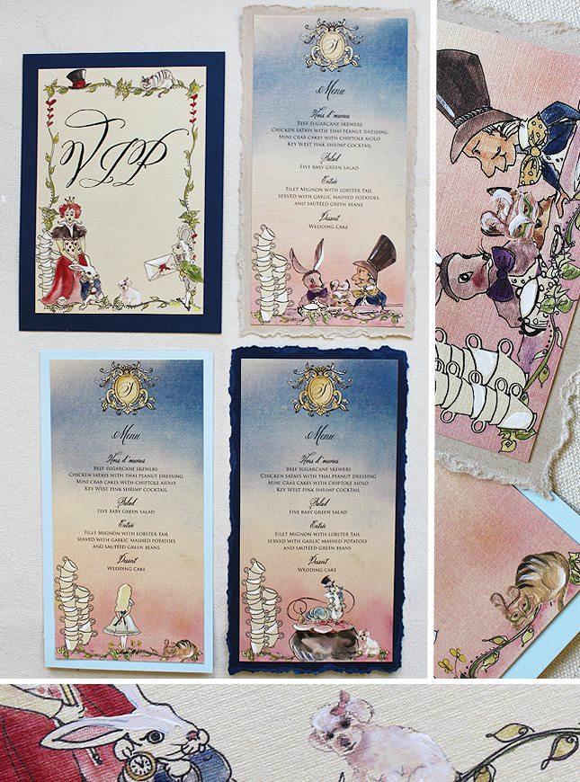 Alice in Wonderland Wedding Accessories