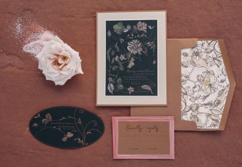 dutch-floral-foil-contrast-wedding-invitation
