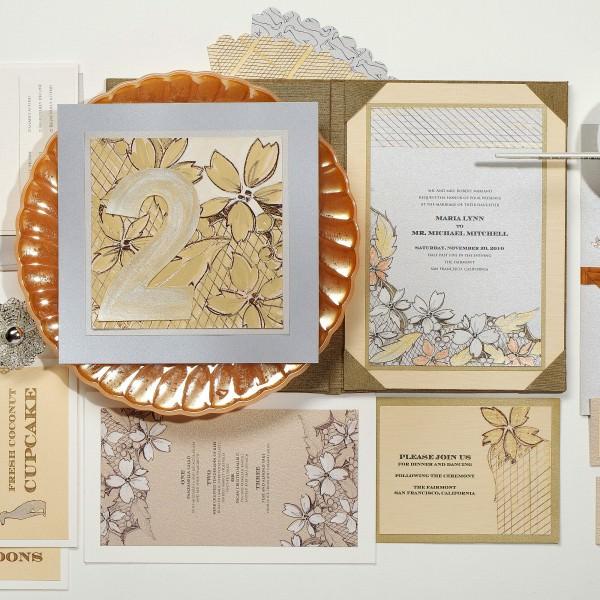 Modern-Floral-Pattern-Wedding-Invitation