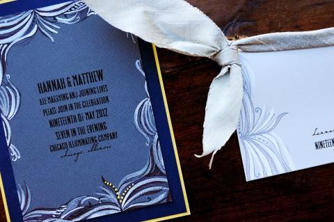 masculine-modern-swirl-hand-painted-wedding-invitation