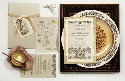 spanish-tile-inspired-hand-painted-wedding-invitation