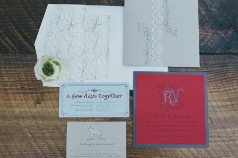 hand-illustrated-monogram-wedding-invitation