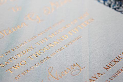 foil-and-watercolor-wedding-invitation