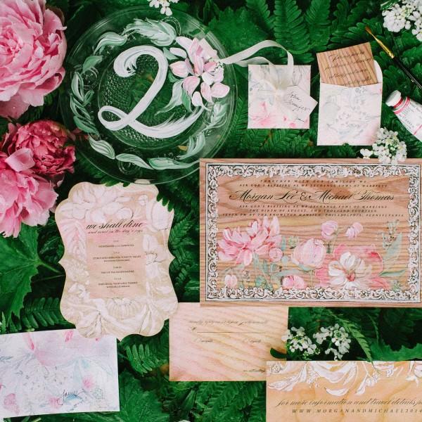 wood-collection-pink-peony-wedding-invitation