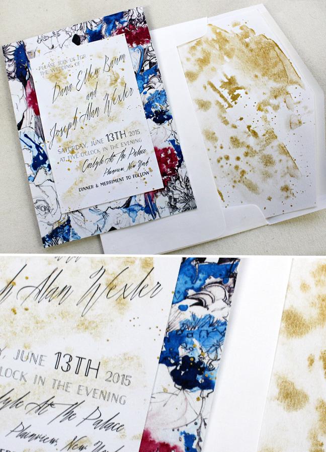 Abstract_Art_Wedding_Invitation