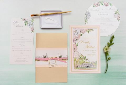 australia-wedding-venue-floral-wedding-invitation