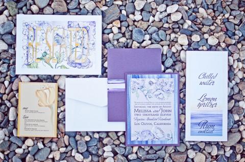 purple-hydrangea-watercolor-wedding-invitation