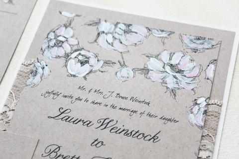 white-peony-hand-painted-wedding-invitations