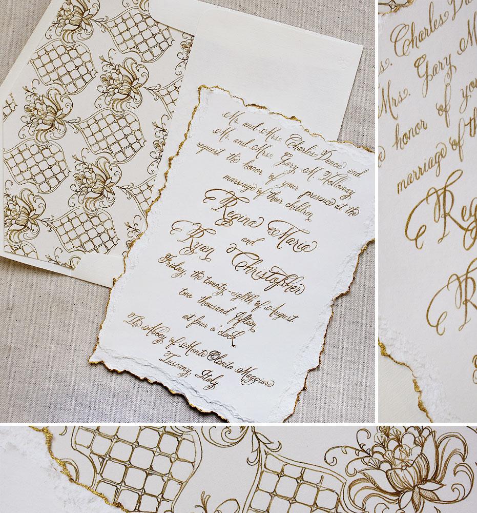 gold-foil-classic-wedding-invitation