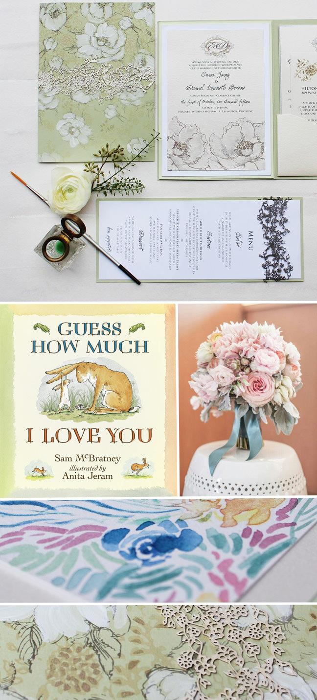 Children's Literature Wedding Invitation