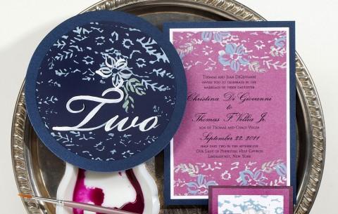 purple-navy-hand-painted-wedding-invitations