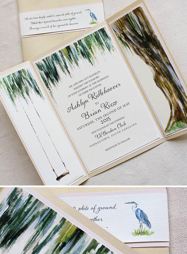 Tree Wedding Invitations