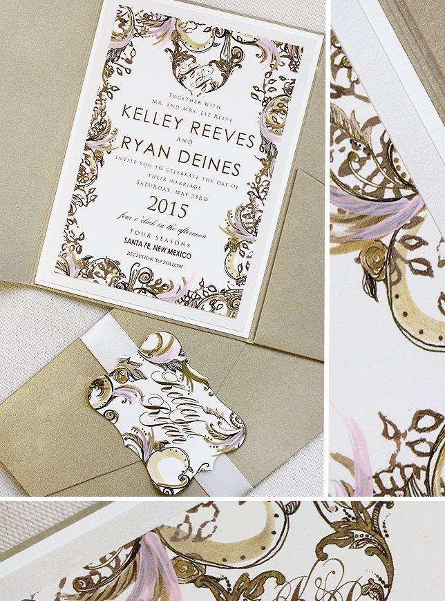 Swirl Wedding Invitations