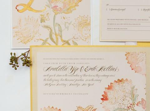 watercolor-poppy-vintage-wedding-invitation