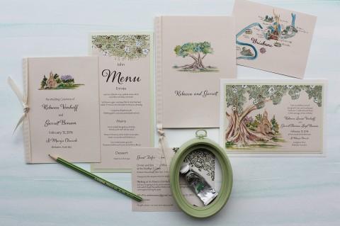 lace-tree-watercolor-tree-church-wedding-invitation