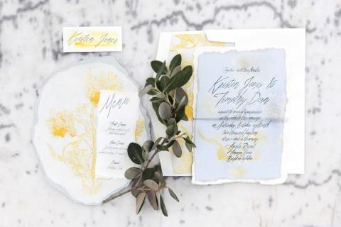 poppy-gray-silver-hand-painted-wedding-invitation