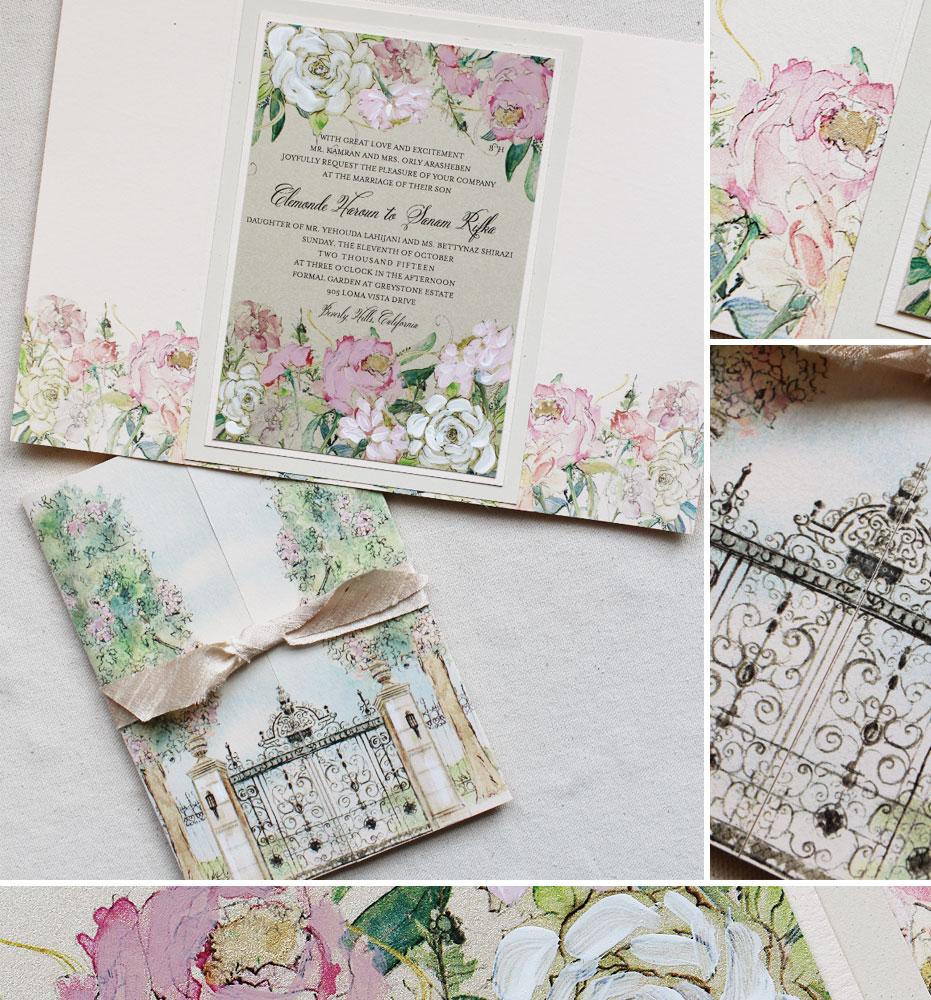 pink-peony-wedding-invitation