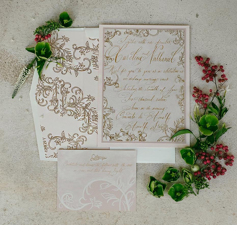 italy-foil-calligraphy-wedding-invitation