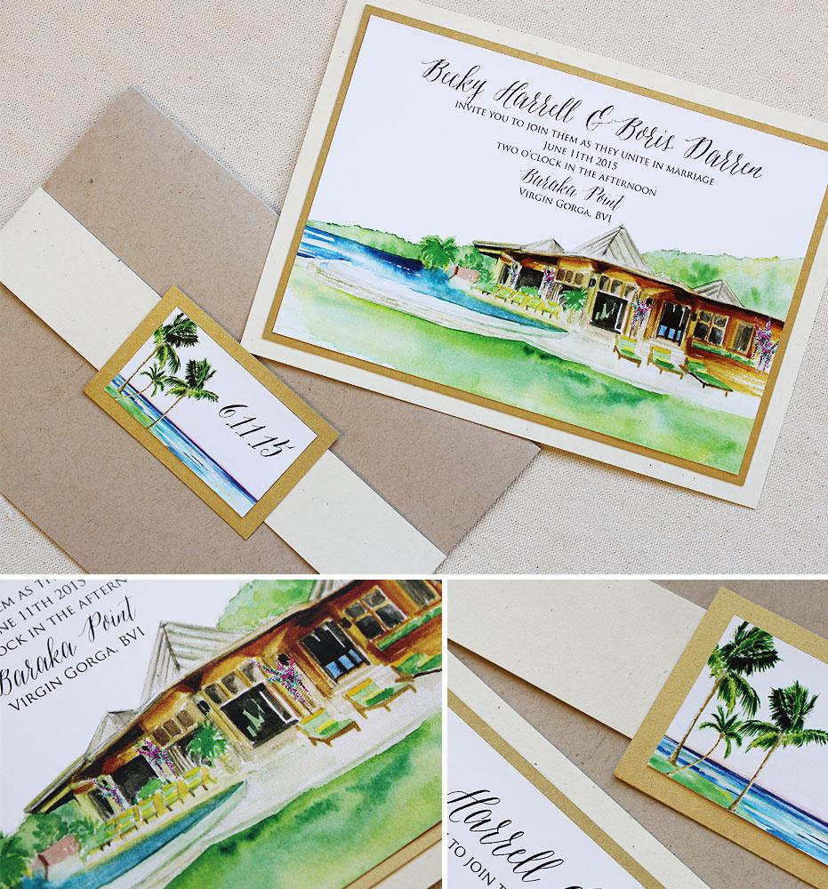 watercolor-island-landscape-wedding-stationery