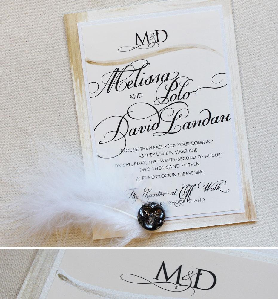 black-tie-monogram-wedding-invitation
