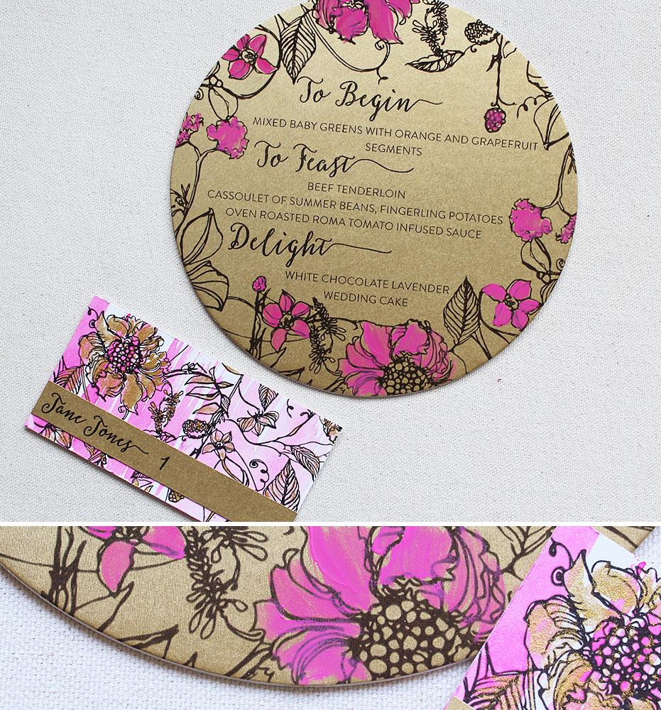 bright-fuchsia-custom-wedding-accessories